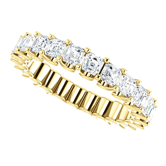 Item # SA128869240E View 5 - 18K Gold Eternal-Love Eternity Band. 2.40ct