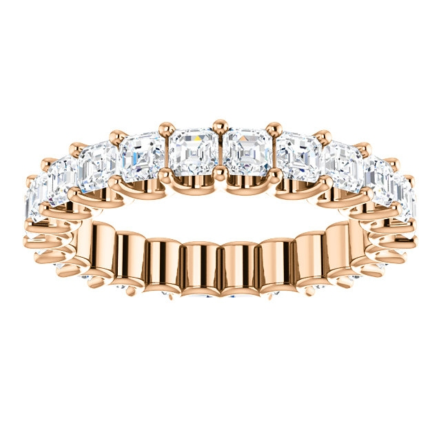 Item # SA128869240R View 3 - 14K Eternal-Love Eternity Band Rose Gold, 2.40CT