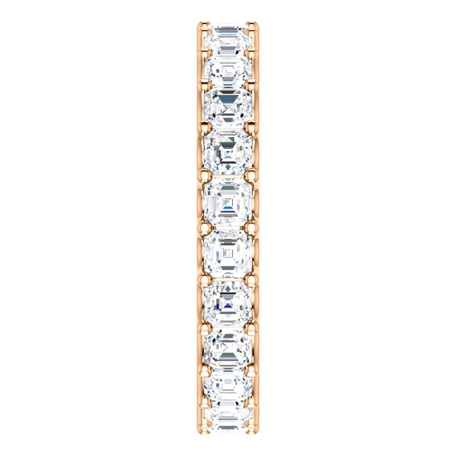 Item # SA128869240R View 4 - 14K Eternal-Love Eternity Band Rose Gold, 2.40CT