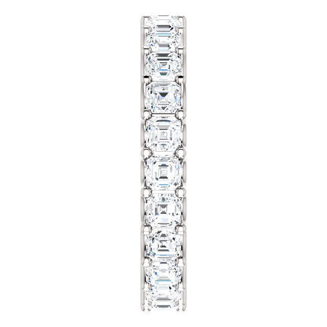 Item # SA128869240W View 4 - Eternal-Love Eternity Band. 14K White Gold. 2.40CT