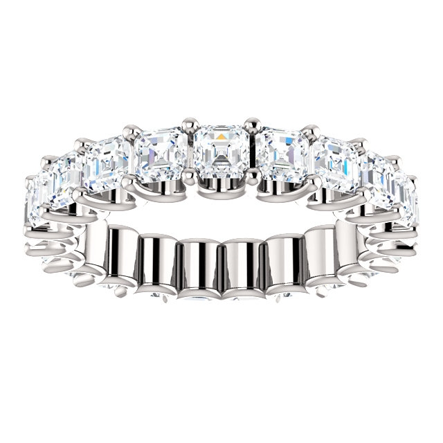 Item # SA128869340PP View 3 - Platinum Eternal-Love Eternity Band. 3.40CT
