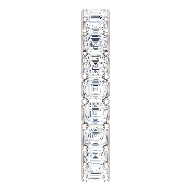 Item # SA128869340PP View 4 - Platinum Eternal-Love Eternity Band. 3.40CT