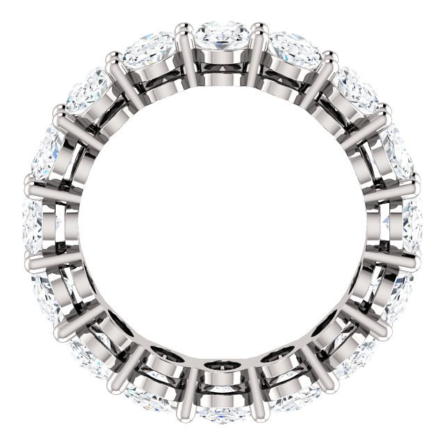 Item # SO128658WE View 2 - 18K White Gold Diamond Eternity Band