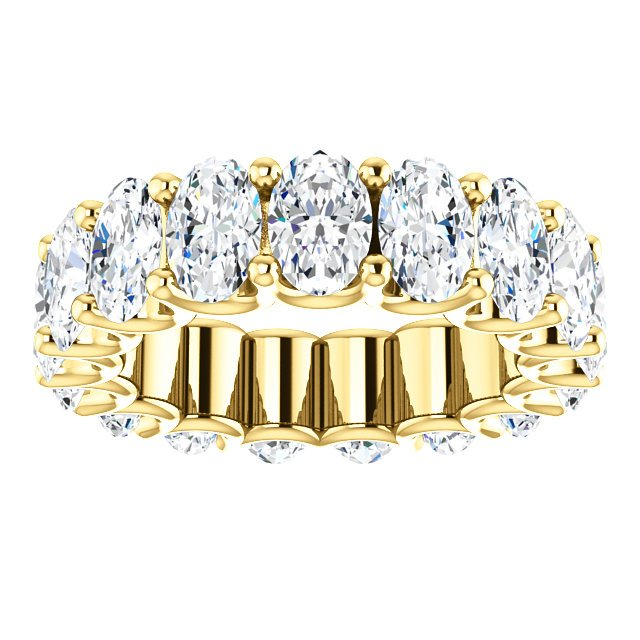 Item # SO128869700E View 3 - Oval Diamond Eternity Band