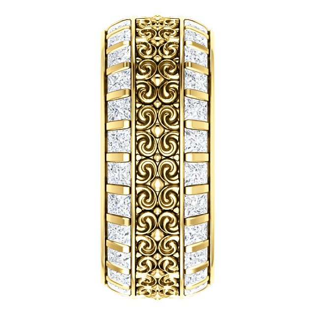 Item # SP128079E View 3 - Diamond Eternity Band