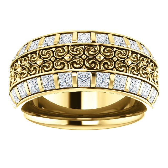 Item # SP128079E View 4 - Diamond Eternity Band