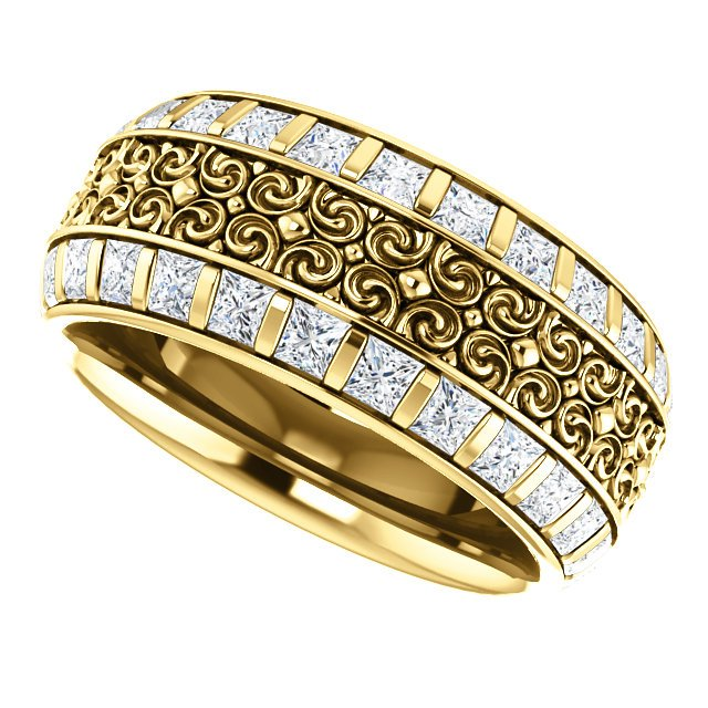 Item # SP128079E View 5 - Diamond Eternity Band