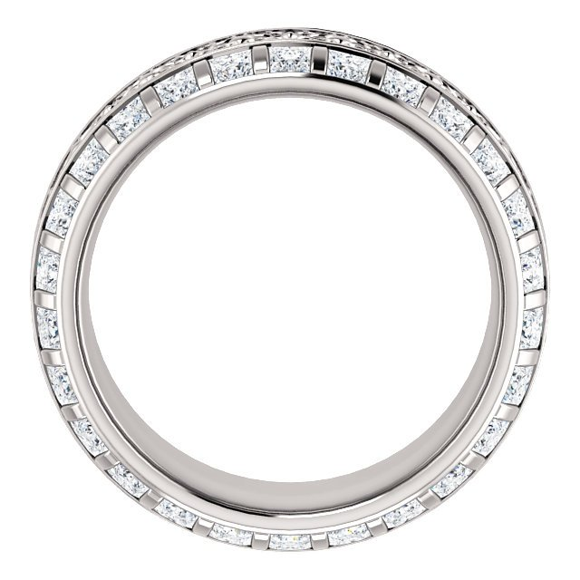 Item # SP128079W View 2 - Diamond Eternity Band