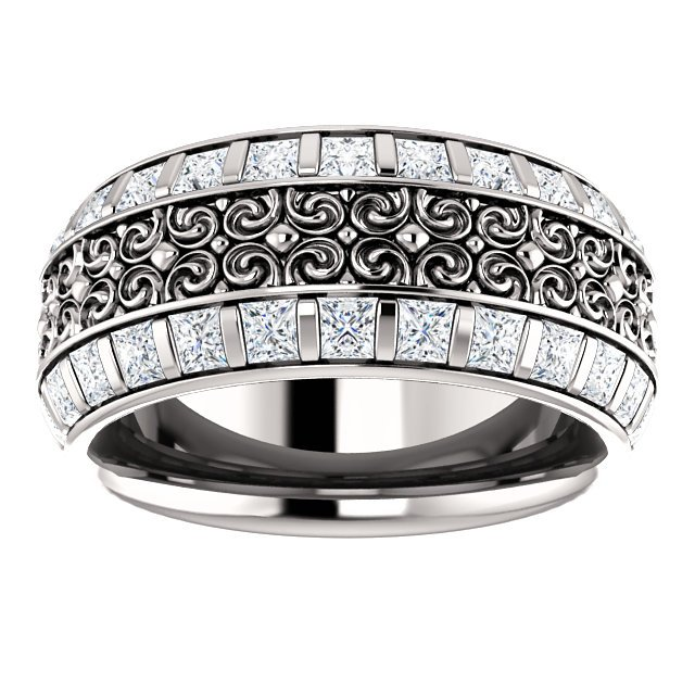 Item # SP128079W View 3 - Diamond Eternity Band