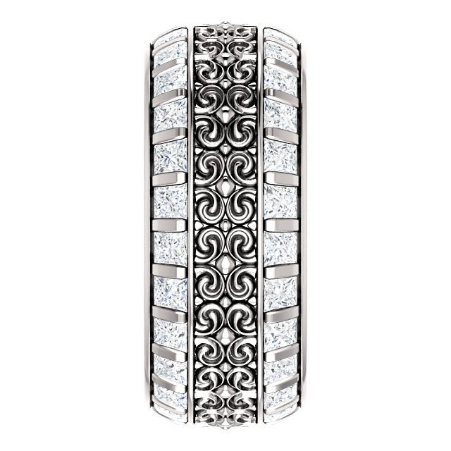 Item # SP128079W View 4 - Diamond Eternity Band
