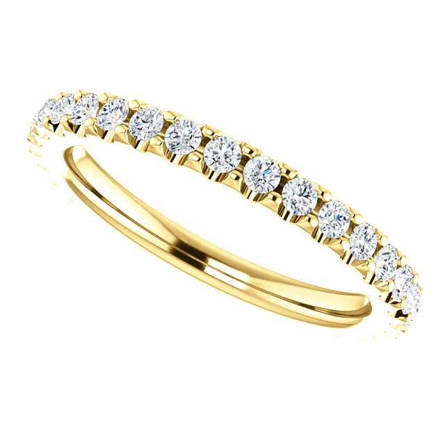 Item # SR127714050E View 5 - Eternity Band