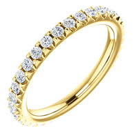 Item # SR127714050 - 14K Diamond Eternity Band