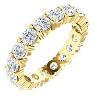 Item # SR127785E - 18K Eternity Ring