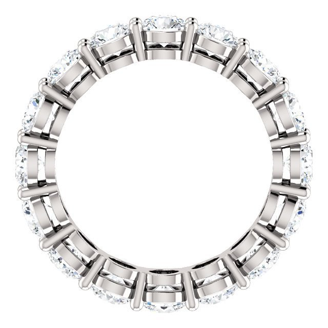 Item # SR127785W View 2 - 14K Diamond Eternity Ring