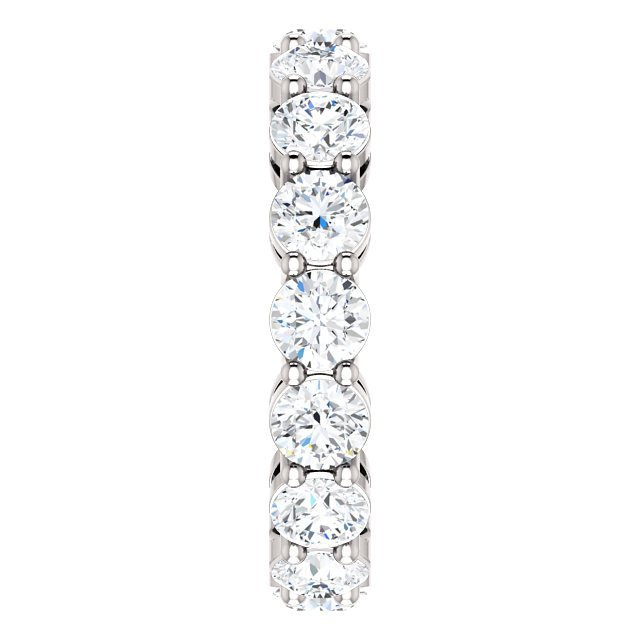 Item # SR127785W View 4 - 14K Diamond Eternity Ring