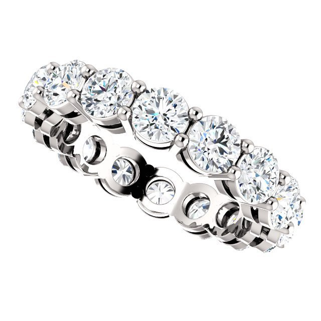 Item # SR127785W View 5 - 14K Diamond Eternity Ring