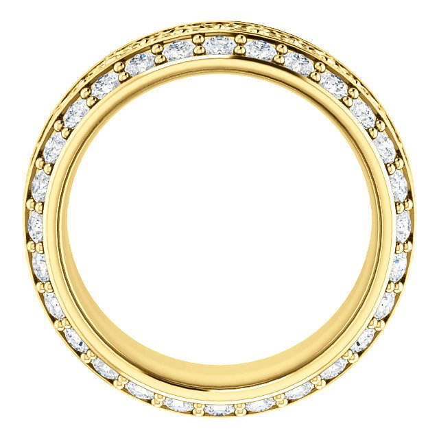 Item # SR128079 View 2 - Platinum Eternity Band