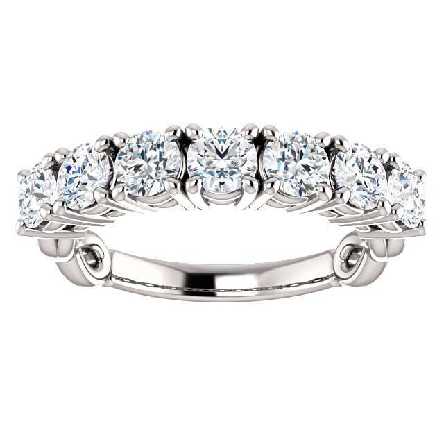 Item # SR128541W View 3 - 7 Diamonds 14K Anniversary Ring