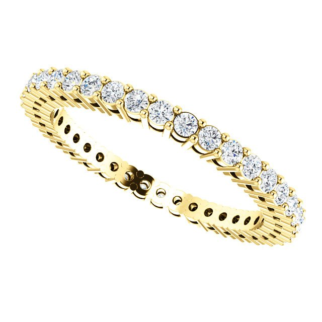 Item # SR128658050 View 5 - 14K Diamond Eternity Band