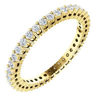 Item # SR128658050 - 14K Diamond Eternity Band
