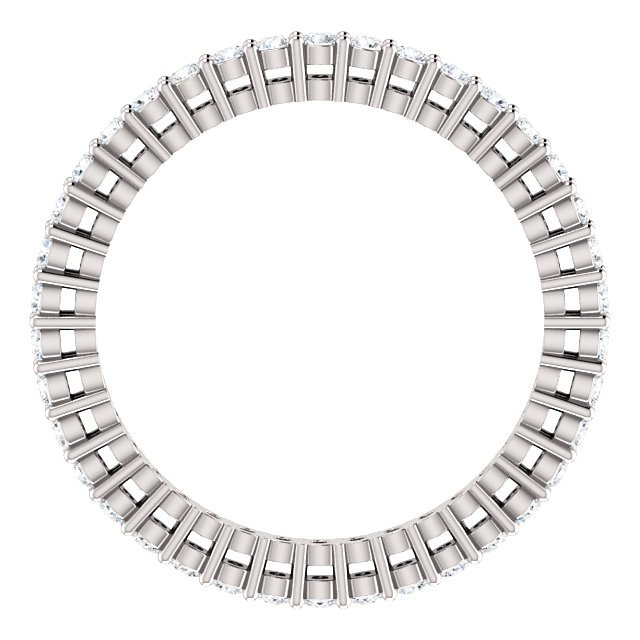 Item # SR128658050W View 2 - 14K Eternity Band.