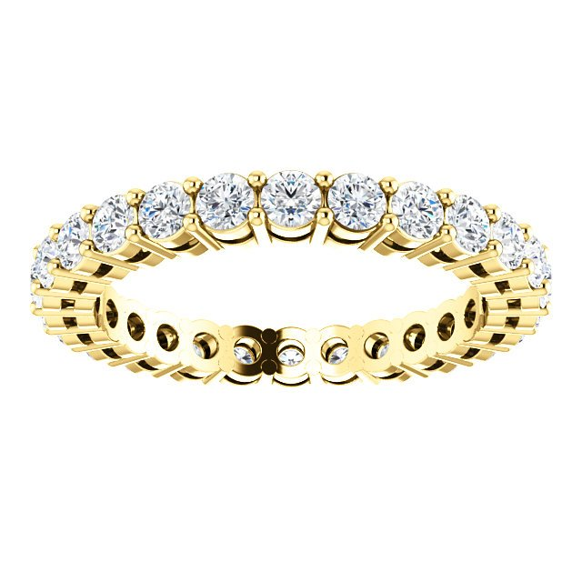 Item # SR128658100 View 3 - 14K Diamond Eternity Band