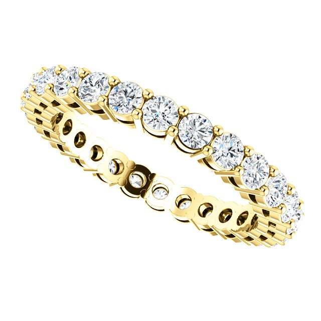 Item # SR128658100 View 5 - 14K Diamond Eternity Band