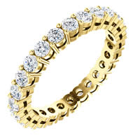 Item # SR128658100 - 14K Diamond Eternity Band