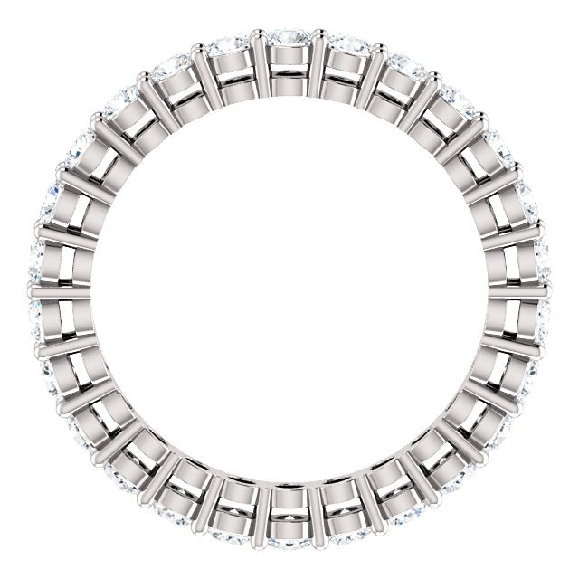 Item # SR128658100W View 2 - 14K Eternity Band