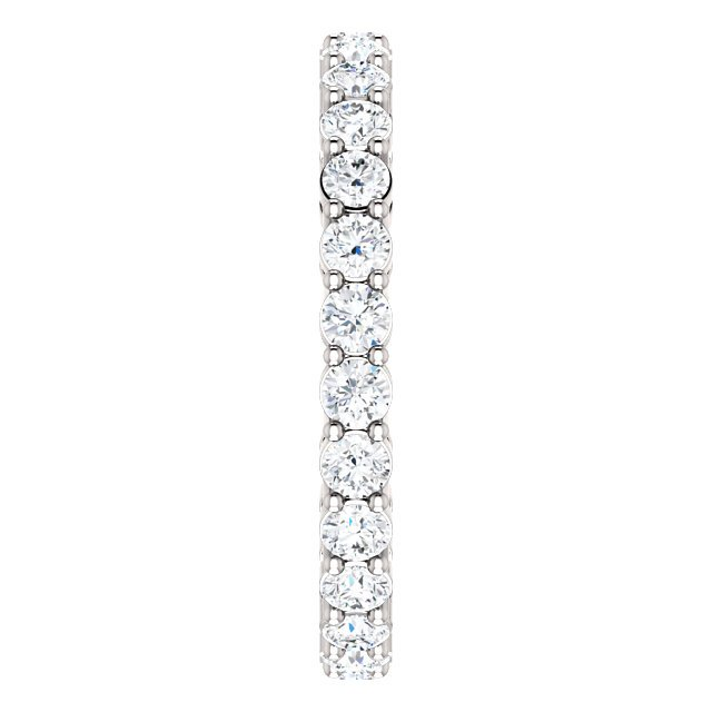 Item # SR128658100W View 4 - 14K Eternity Band