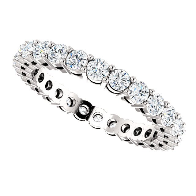 Item # SR128658100W View 5 - 14K Eternity Band