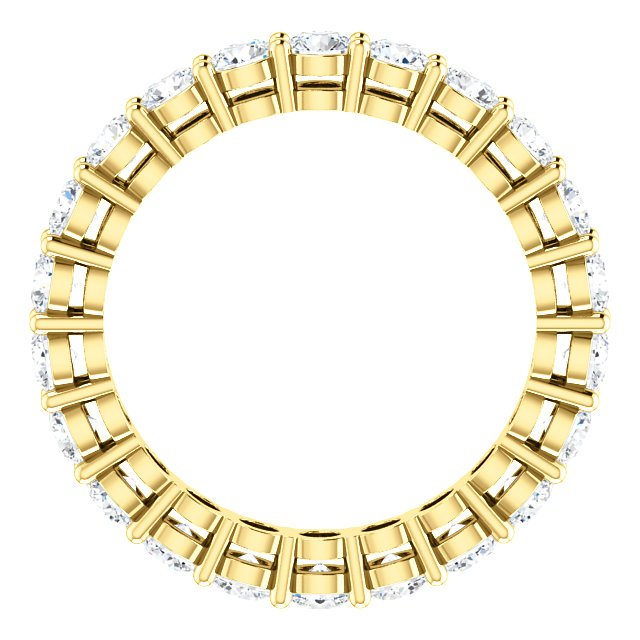Item # SR128658175E View 2 - 18K Yellow Gold Eternity Band