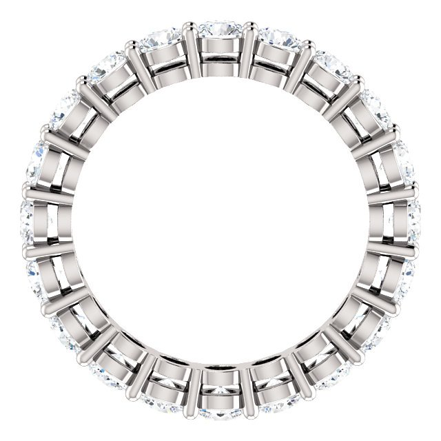 Item # SR128658200PP View 2 - Platinum Eternity Band