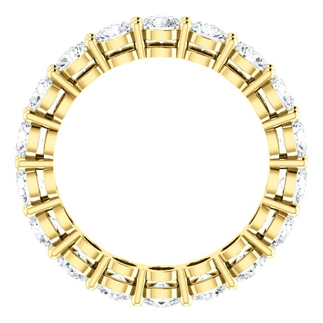 Item # SR128658275E View 2 - 18K Yellow Gold Diamond Eternity Band. 2.75CT TW