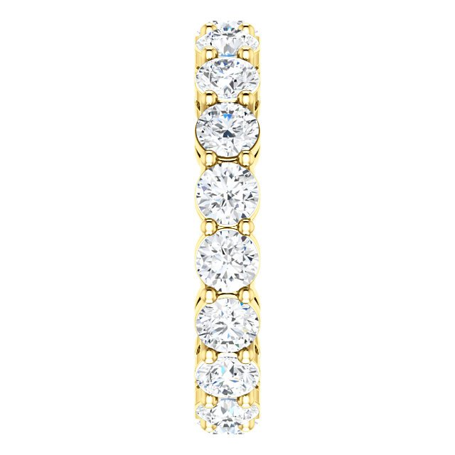Item # SR128658275E View 4 - 18K Yellow Gold Diamond Eternity Band. 2.75CT TW