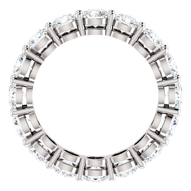 Item # SR128658275PP View 2 - Platinum Diamond Eternity Band. 2.75CT TW.