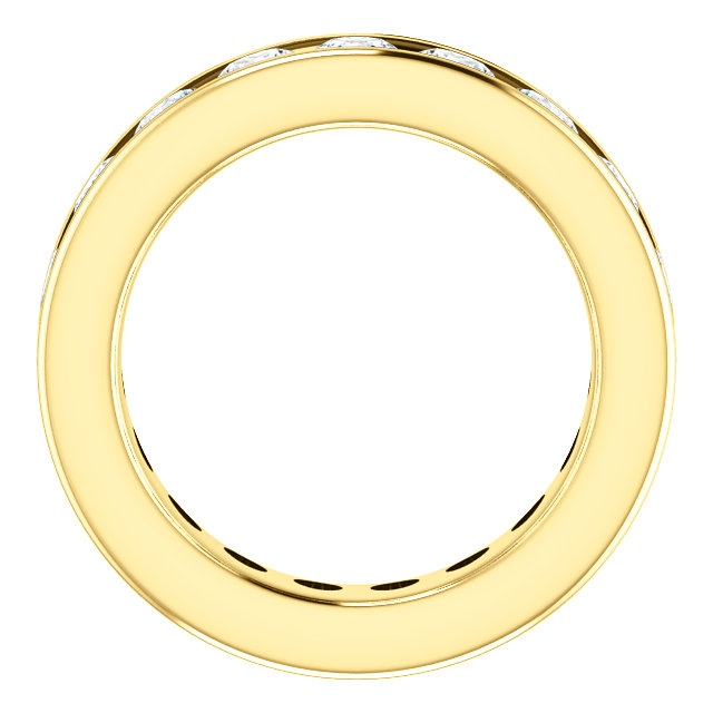 Item # SR128774285E View 2 - 18K yellow Gold Eternity Band
