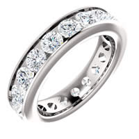 Item # SR128774285PP - Platinum Eternity Band