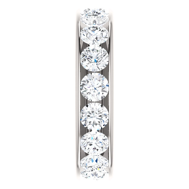 Item # SR128774350PP View 4 - Platinum Eternity Band