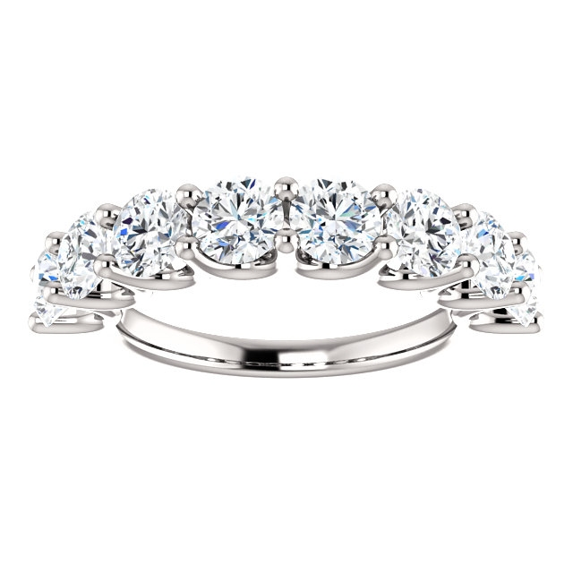 Item # SR128858250W View 3 - Eternal-Love 14K White Gold Anniversary Band. 2.50CT