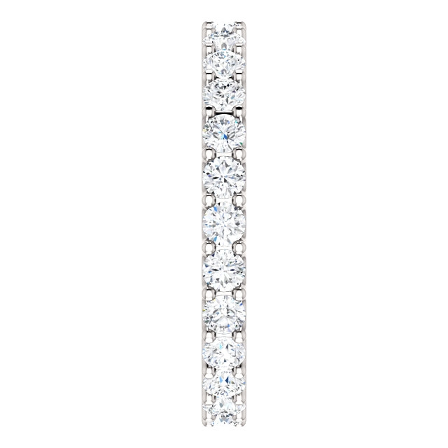 Item # SR128869100W View 4 - Eternal-Love Eternity Band. 1.0CT TW.