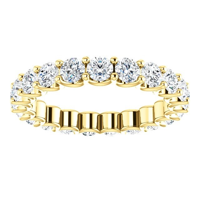 Item # SR128869210E View 3 - Eternal-Love Eternity Band. 18K Gold. 2.10CT TW