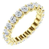 Item # SR128869210 - 14K Eternal-Love Eternity Band