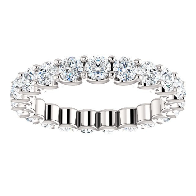 Item # SR128869210W View 3 - Eternal-Love Eternity Band. 2.10CT
