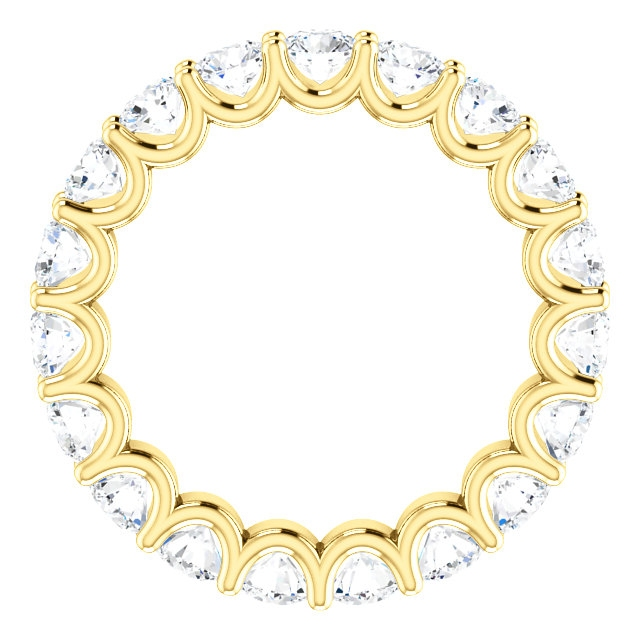 Item # SR128869290E View 2 - Eternal-Love Diamond Eternity Band. 2.90CT 18K Gold