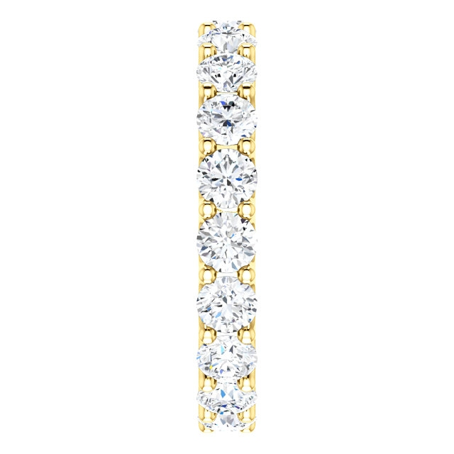 Item # SR128869290E View 4 - Eternal-Love Diamond Eternity Band. 2.90CT 18K Gold