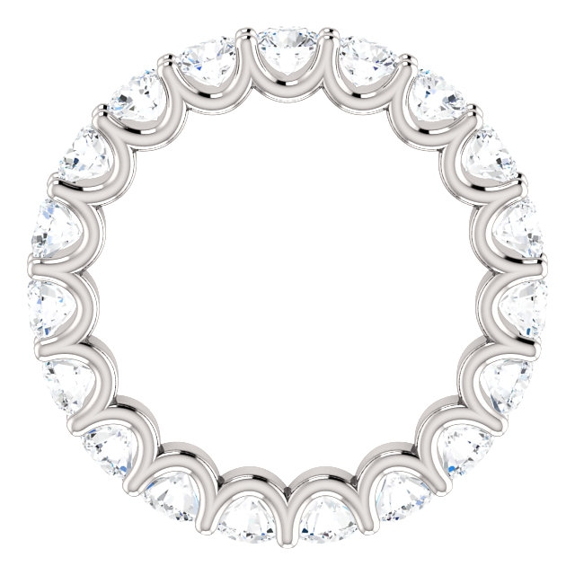 Item # SR128869290WE View 2 - Eternal-Love Eternity Band. 2.90CT