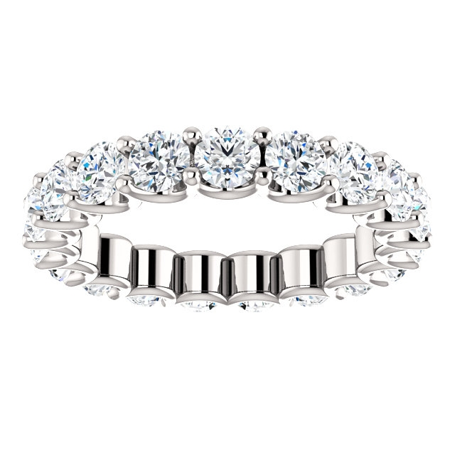 Item # SR128869290WE View 3 - Eternal-Love Eternity Band. 2.90CT