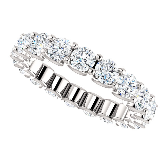 Item # SR128869290WE View 5 - Eternal-Love Eternity Band. 2.90CT