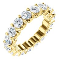 Item # SR128869350 - Gold Eternal-Love Eternity Band. 3.50CT